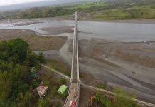 Kalibo Bridge III, located on the boundaries of Brgy. Tigayon, Kalibo and Brgy. Mina, Lezo, is part of the 16-kilometer Aklan Circumferential Road, which traverses the towns of Kalibo, Numancia, Lezo and Makato. C. CALAPARDO AND M. SEDICOL