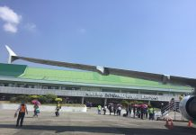"""The Kalibo International Airport in Aklan. Recently, an unnamed flight attendant who traveled to Wuhan City, China, puts herself in """"self-quarantine"""" at the Kalibo International Airport after exhibiting suspected symptoms of coronavirus, according to a health official. AKEAN FORUM"""