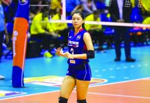 Mika Reyes is set to suit up for Sta. Lucia after three years with Petron in the Philippine Superliga Grand Prix. FOX SPORTS PH PHOTO
