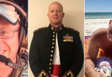 The victims (from left) were Ian McBeth, Paul Clyde Hudson and Rick A DeMorgan Jr. They are United States firefighters who died when their air tanker crashed while battling blazes in Australia. REUTERS