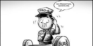 Editorial cartoon for January 18, 2020