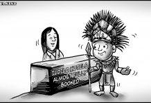 Editorial cartoon for January 24, 2020