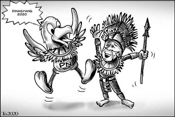 Editorial cartoon for January 26, 2020