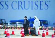 There are worries over allowing former Diamond Princess passengers to roam freely around Japan's notoriously crowded cities, even if they have tested negative for the coronavirus. AFP