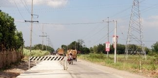 Newly concreted 2-kilometer road in Brgy. San Jose, Binalbagan, Negros Occidental. Photo courtesy of DPWH, Negros Occidental 2nd DEO