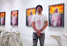 For his fourth solo show to date, the young Zambarrano draws parallels between the grind and labor of the average Filipino blue collar worker with his own struggles as an emerging artist. PHOTO FROM ERIC BARBOSA JR/ATMOS.PH