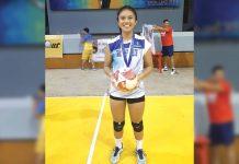 Bacolod Tay Tung High School Thunderbolts Aurea Alvero. BIBOY CALAMBA