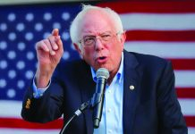 """Bernie Sanders: """"""""The American people are sick and tired of a president who lies all the time."""""""