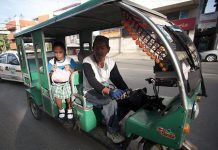 According to acting Malay town Mayor Frolibar Bautista, all public motorized tricycles will be phased out starting May 15. He is urging gasoline-operated tricycle operators to submit their applications for the e-trike program. GMA NETWORK