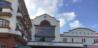 "Authorities are closely monitoring two persons at the Dr. Rafael S. Tumbokon Memorial Hospital in Kalibo, Aklan for exhibiting ""flu-like symptoms"" amid growing fears from the 2019 novel coronavirus. AKEAN FORUM"