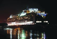 Around 12 percent of the people on board the Diamond Princess have no tested positive for the new coronavirus. AFP