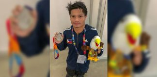 Ernie Gawilan will compete in the 2020 Tokyo Paralympic Games in Japan.