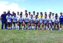 ILOPRISAA football upsets NOPSSCEA with a come from behind victory in their do or die championship matchup at the Villareal Stadium on Feb.4. EDWIN CARO LARU-AN