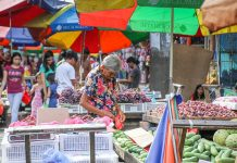 Lower prices of petroleum products, electricity, rice and other food products are expected to temper inflation pressures for the month, the Bangko Sentral ng Pilipinas' Department of Economic Research said in a statement. ABS-CBN
