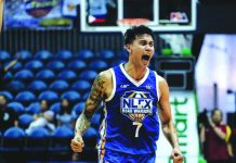 Before taking his talents to NLEX Road Warriors in the Philippine Basketball Association(PBA), John Paul Erram played for four years with the Blackwater Elite. His move to the Talk N' Text Katropa still awaits the green light from the PBA' Commissioner Office. TONIGHT ABANTE.COM