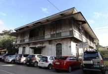 The proposed restoration of the Lacson ancestral house across Iloilo City's Plaza Libertad will complement the city government's program of reviving local cultural treasures, says Mayor Jerry Treñas. The Lacson ancestral house is located beside the century-old San Jose de Placer Church facing the historic Plaza Libertad. It was built in bahay na bato style (stone and concrete base, elevated wooden quarters) common during the Spanish colonial period. A distinct feature is its deep awnings that serve as protection from the tropical weather. PHOTO BY ARNOLD ALMACEN, CITY MAYOR'S OFFICE
