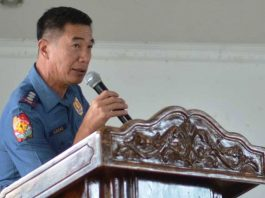 "STOP IT OR ELSE…""I appeal to the 'bookies' financiers to respect the order of the national police headquarters to stop all forms of illegal gambling or we would conduct operations and place them behind bars,"" says Police Colonel Paul Kenneth Lucas, Iloilo police provincial director. IAN PAUL CORDERO/PN"