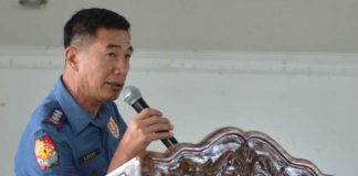 """STOP IT OR ELSE…""""I appeal to the 'bookies' financiers to respect the order of the national police headquarters to stop all forms of illegal gambling or we would conduct operations and place them behind bars,"""" says Police Colonel Paul Kenneth Lucas, Iloilo police provincial director. IAN PAUL CORDERO/PN"""