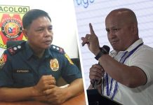 "Police Lieutenant Colonel Jovie Espenido and Sen. Ronald ""Bato"" Dela Rosa."