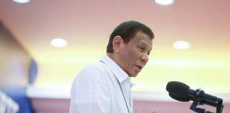 President Rodrigo Duterte. PCOO