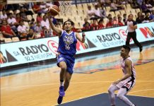 Raul Soyud spearheads the offense of NLEX Road Warriors in its game against the Alaska Aces in the Phoenix Super Basketball Tournament. PBA PHOTO