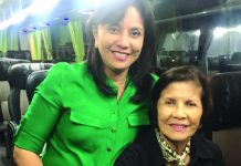 Salvacion Gerona, the mother of Vice President Leni Robredo, died on Saturday. Gerona, also known as Sally, was a teacher by profession. She taught in Universidad de Sta Isabel in Naga City, where Robredo finished elementary and high school. SALVACION GERONA VIA FACEBOOK