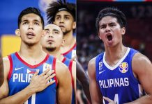 Thirdy Ravena and Kiefer Ravena. TIEBREAKER TIMES PHOTO