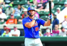 """You don't get a lot of chances to represent people or places that mean something to you,"" says Tim Tebow on his decision of donning the Filipino colors in the upcoming 2021 Word Baseball Classic qualifiers from March 12 to 25 in Tucson, Arizona, United States. BLEACHERREPORT.COM"