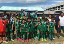 University of St. La Salle Integrated School Under 10 Stingers. USLS PHOTO