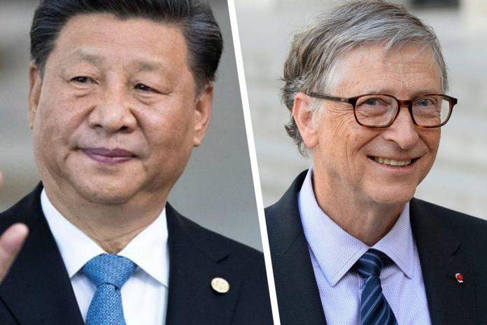 Februar 2020: Präsident Xi Jinping schreibt einen Antwortbrief an Bill Gates