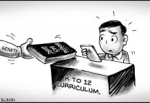 Editorial cartoon for February 22, 2020