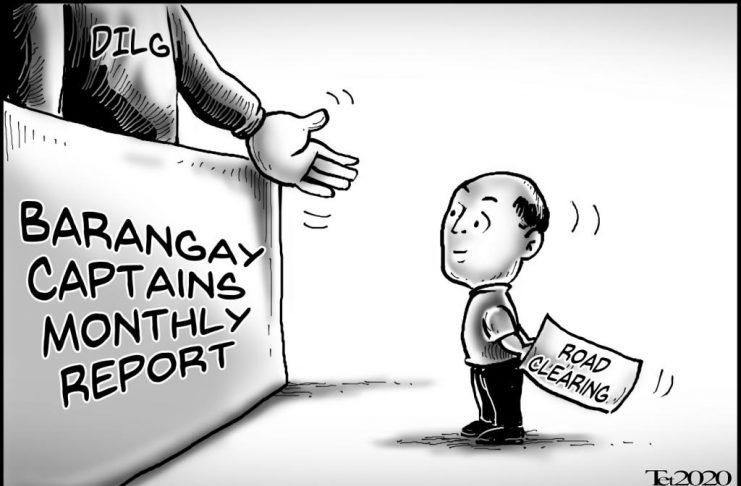 Editorial cartoon for February 28, 2020
