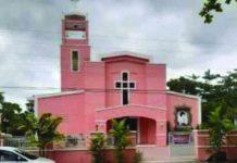 Sibalom town's Sta. Rita de Cascia Parish Church helps the Inter-Agency Task Force (IATF) for coronavirus disease 2019 in signaling the start of Antique's curfew by sounding off its bell. PNA
