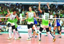 Among the replays the ABS-CBN S+A Channel 23 will air would be the rivalry match between archrivals De La Salle University and the Ateneo Lady Eagles in the finals of the Season 78 women's volleyball. ABS CBN SPORTS