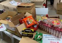 FOOD FOR FRONT-LINERS. Employees' cooperatives in Antique donate PHP50,00 worth of food to the province's front-liners. Ma. Lourdes Fortaleza, president of the United Provincial Government Employees of Antique (UPGEA), said on Tuesday (March 31, 2020) they consider their actions as part of their social responsibility. Photo courtesy of UPGEA/APGEMCO