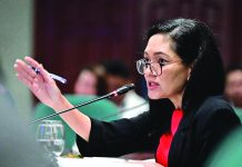 """""""Our frontliners are heroes and should be treated with respect and compassion,"""" says Sen. Risa Hontiveros. RISA HONTIVEROS VIA FACEBOOK"""