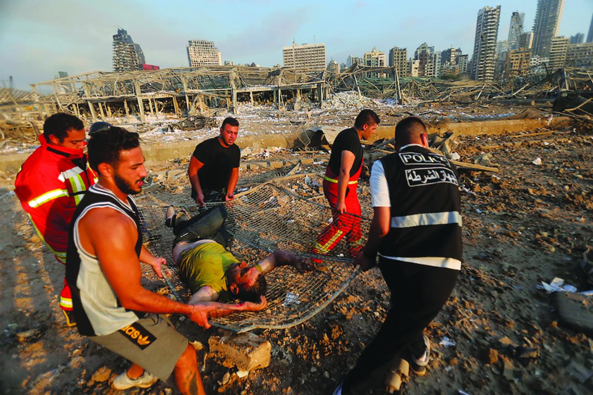 Beirut monster blast leaves over 100 dead